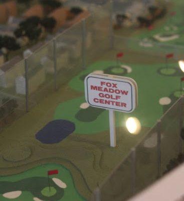 Fox Meadow Golf Center Maple Shade Township NJ course model driving range