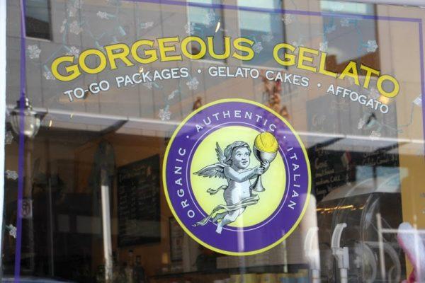 Gorgeous Gelato Portland ME logo store front