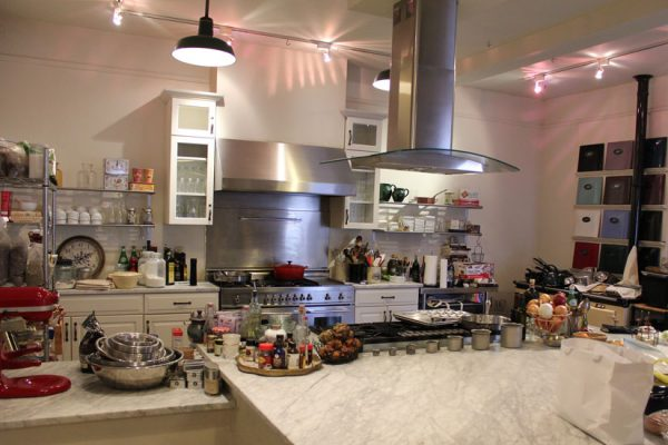 In-the-Kitchen-Cooking-School-Haddonfield-NJ-gourmet-pantry-gifts-stove-range-display-ingredients