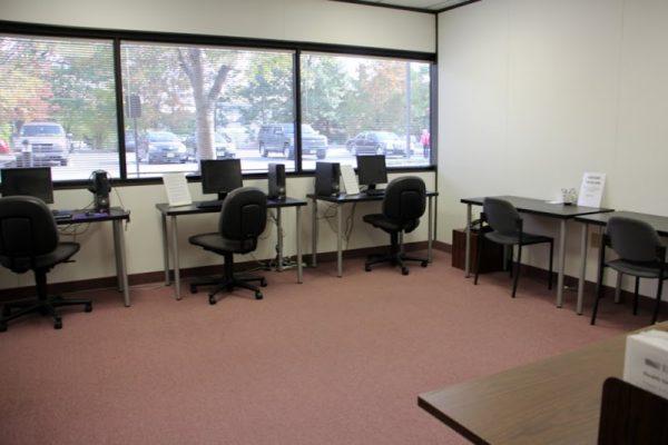 J & J Staffing Resources Trenton Ewing NJ computer lab training assessment testing room