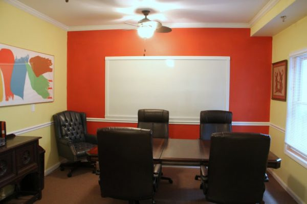 James K. Grace Attorney At Law Mt Holly NJ conference room