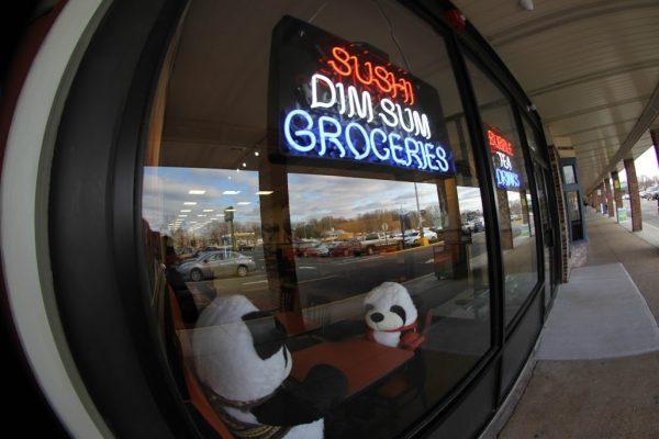Kazia's Asian Grab 'n Go Restaurant Hazlet NJ asian cusine pandas dining store front window display sushi dimsum groceries