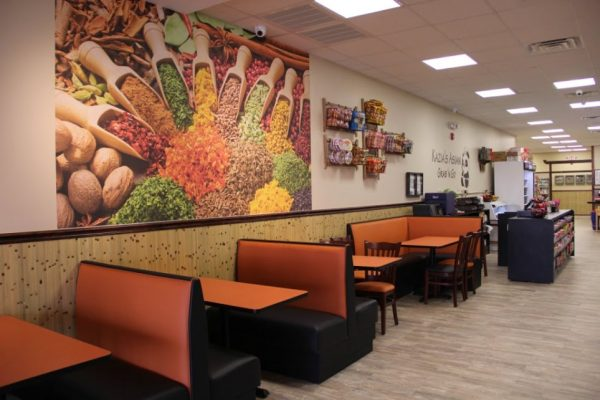 Kazia's Asian Grab 'n Go Restaurant Hazlet NJ tables booth asian cusine