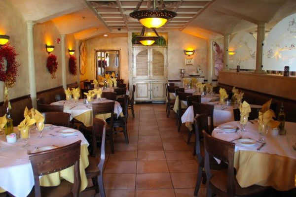 La Pastaria restaurant Red Bank NJ dining room