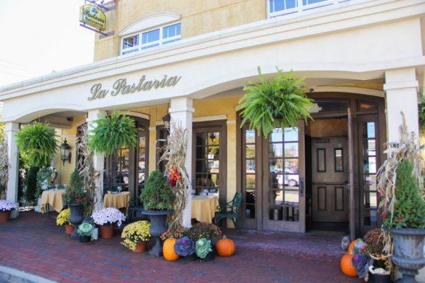 La Pastaria restaurant Red Bank NJ store front entrance