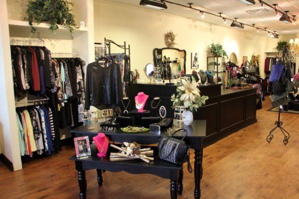 Lauren & Michelle LLC Cherry Hill  NJ boutique shop clothing interior display
