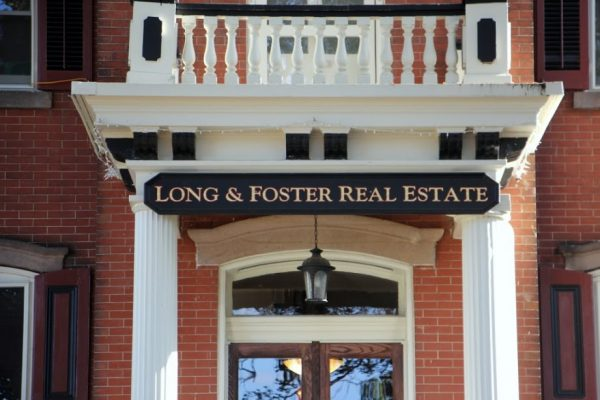 Long & Foster Real Estate entrance sign