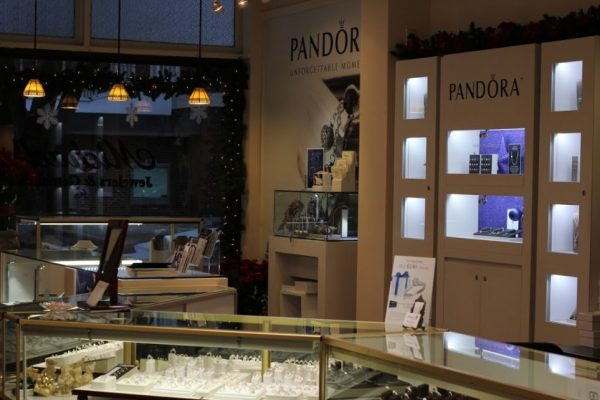 Michael's Jewelers Haddon Heights NJ interior display