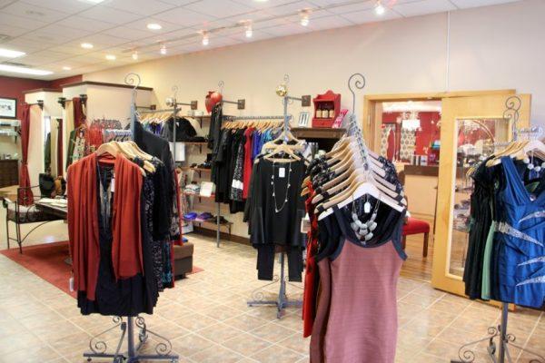Michelle's Manelli Cherry Hill NJ boutique shop interior womens clothing