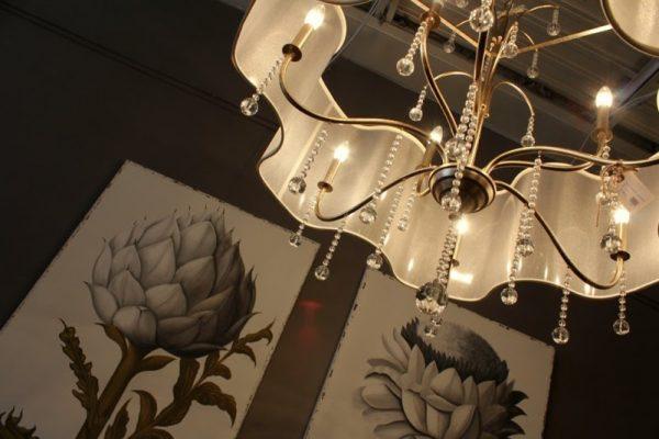 Modern Vintage Home Cherry Hill NJ chandelier wall art print