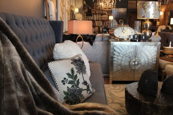 Modern Vintage Home Cherry Hill NJ furnishing sofa stand