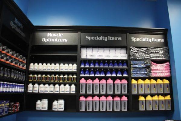 Nutrishop Mt Laurel NJ specialty items muscle optimizers