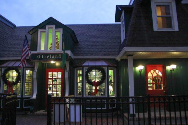 O'Ireland Irish & Celtic Red Bank NJ gift shop store front entrance