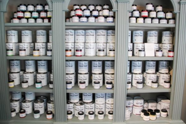 Paint Passion Red Bank NJ display paint cans