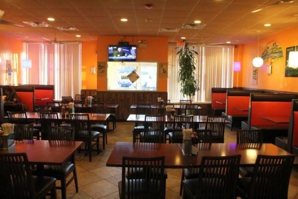 Pho Eden Cherry Hill NJ Vietnamese Restaurant interior tables seating