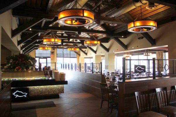 Rodizio Grill Brazilian steakhouse Voorhees NJ interior