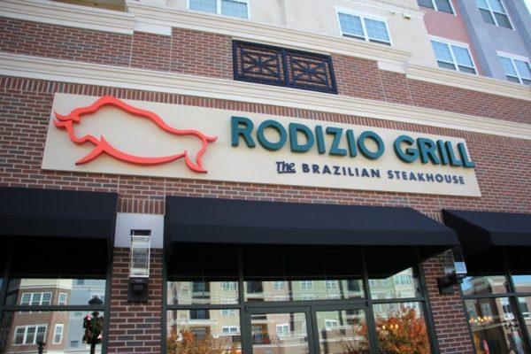 Rodizio Grill Brazilian steakhouse Voorhees NJ logo entrance sign