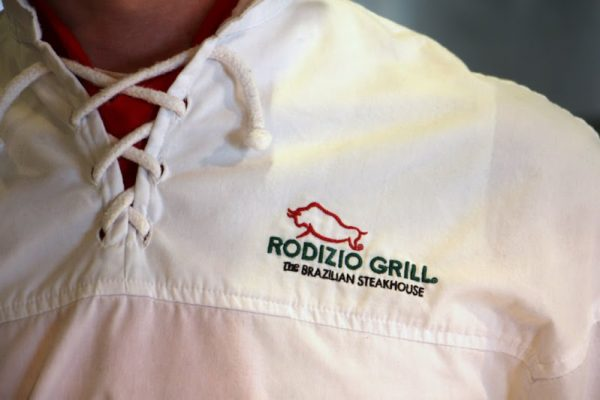 Rodizio Grill Brazilian steakhouse Voorhees NJ logo string collar shirt