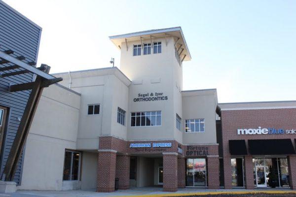 Segal and Iyer Orthodontics Marlton NJ store front entrance