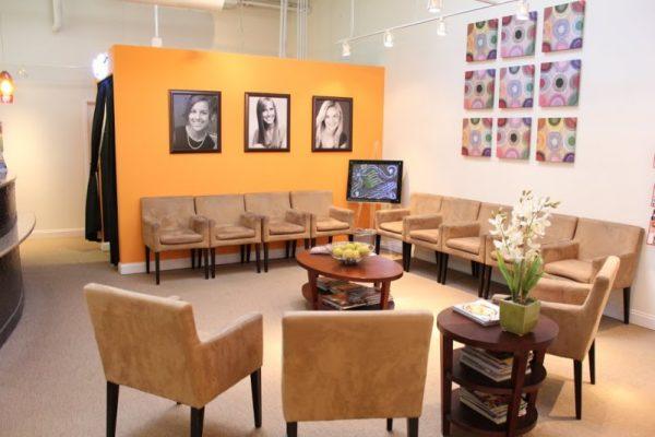Segal and Iyer Orthodontics Marlton NJ waiting room chairs