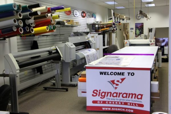 Signarama Cherry Hill NJ sign display banner printer
