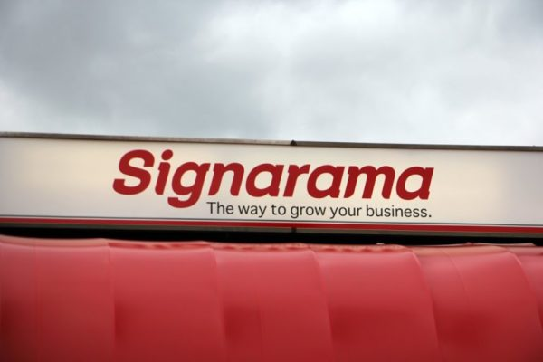 Signarama Cherry Hill NJ store front sign logo