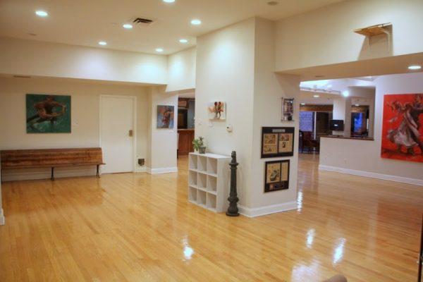 Society Hill Dance Academy Philadelphia PA dance floor interior 1