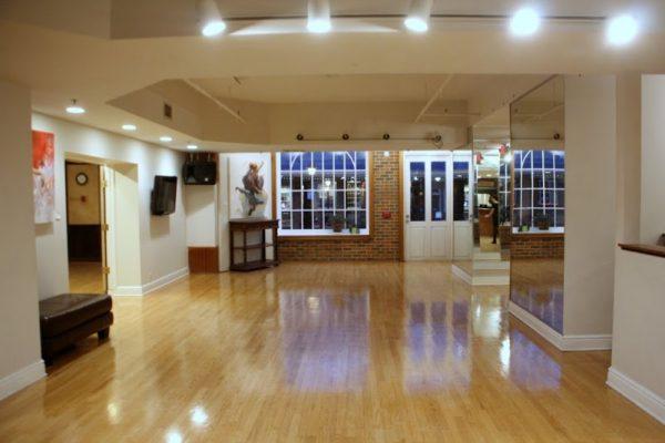 Society Hill Dance Academy Philadelphia PA dance floor interior 3