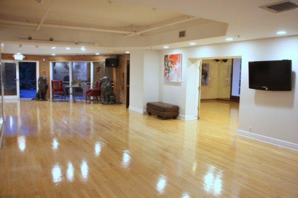 Society Hill Dance Academy Philadelphia PA dance floor interior 4