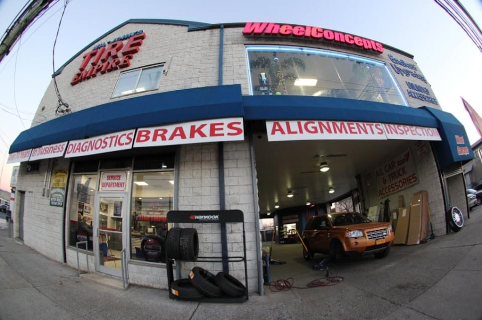 wil johns tire empire see inside tire dealer and auto repair shop staten island ny google. Black Bedroom Furniture Sets. Home Design Ideas