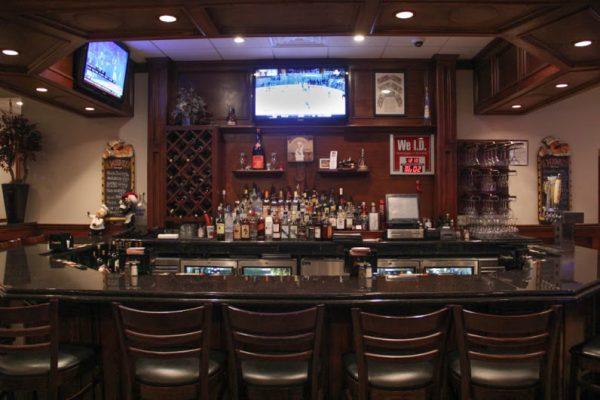 Yesterday's Restaurant Hazlet, NJ bar counter