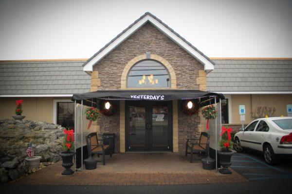 Yesterday's Restaurant Hazlet, NJ store front building entrance