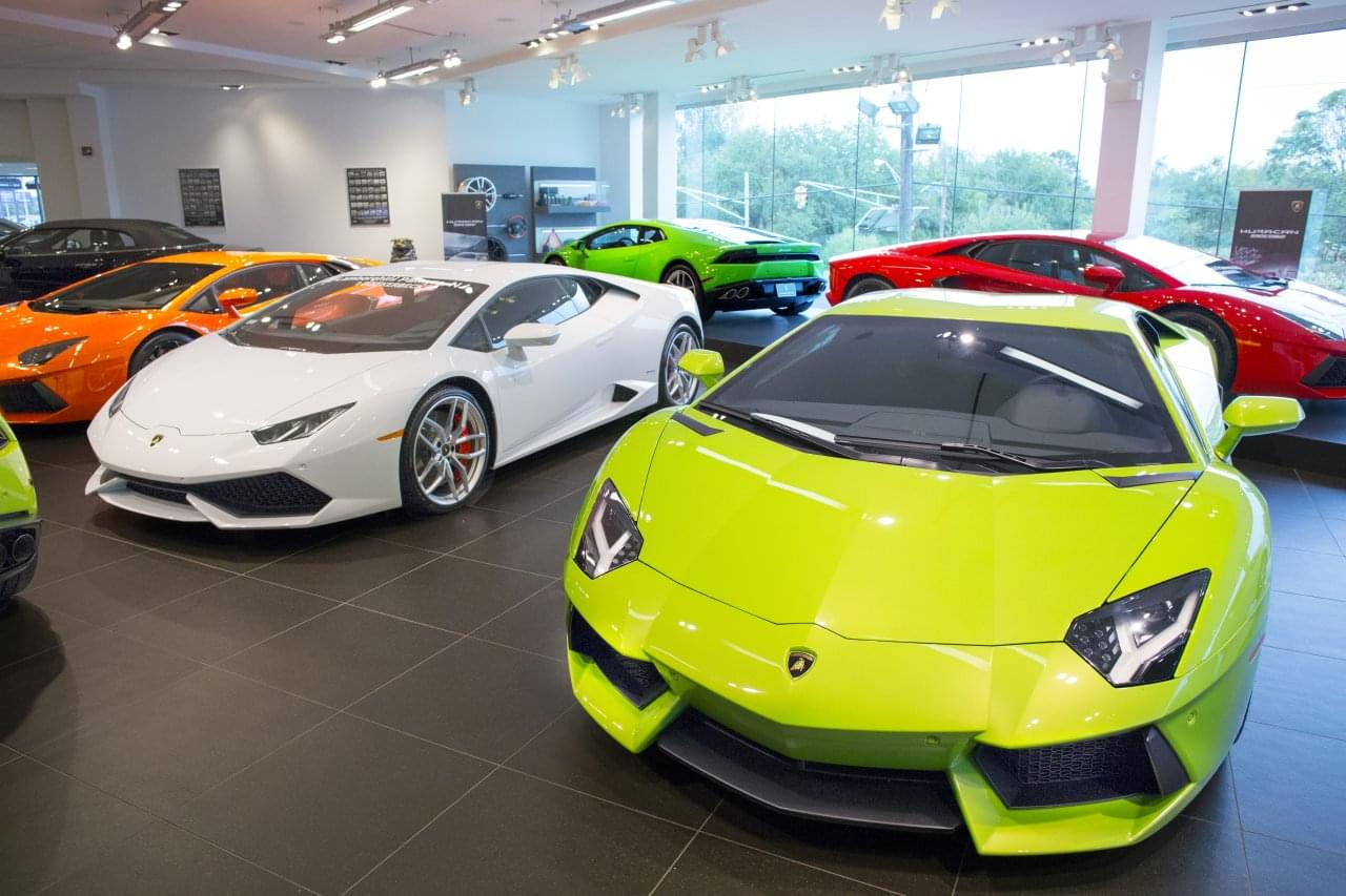 Lamborghini Palmyra Google Business View Interactive Tour - Lamborghini car dealership