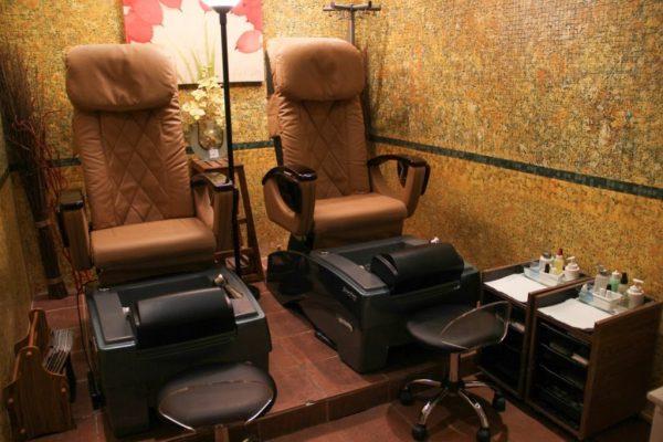 AquaSpa Day Spa & Nail Salon East Brunswick massage chair pedicure