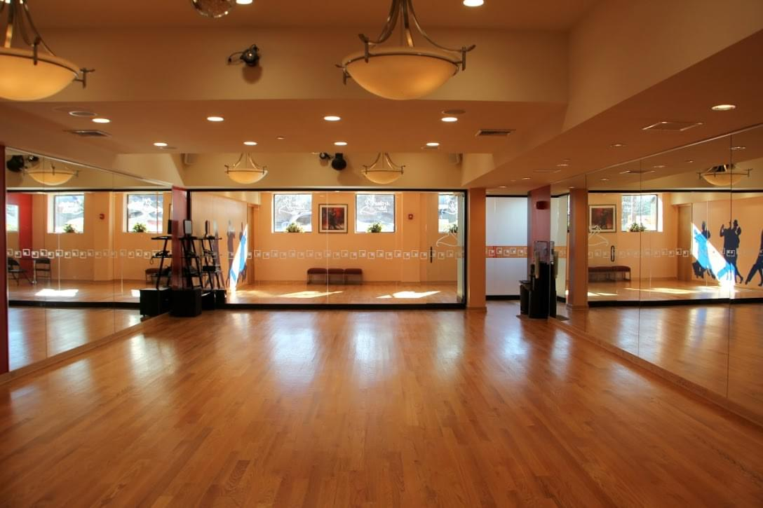 Arthur Murray Dance Studio Bayside Ny Wooden Floor Mirrors Chandelier
