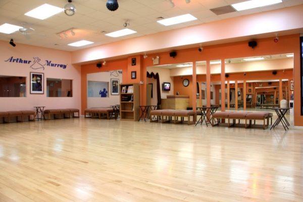 Arthur Murray Dance Studio Merrick NY wooden dance floor