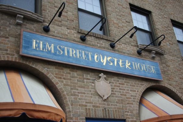 Elm Street Oyster House Greenwich CT store front sign