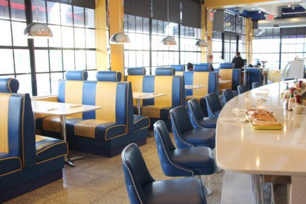 Mugshot Diner Philadelphia PA booths counter seating