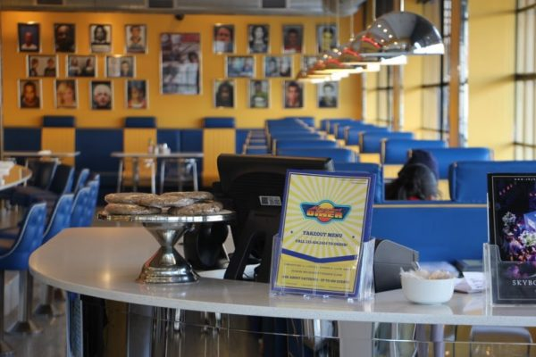 Mugshot Diner Philadelphia PA cashier counter