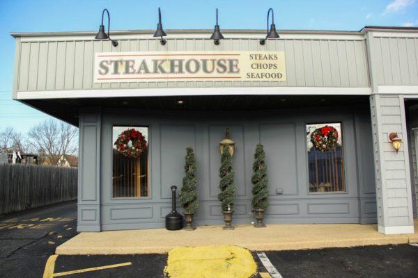 Neil Michaels Steakhouse Atlantic Highlands NJ store front restaurant sign