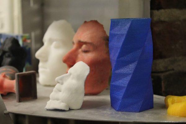 NextFab Philadelphia PA prototyping workshop 3D models faces