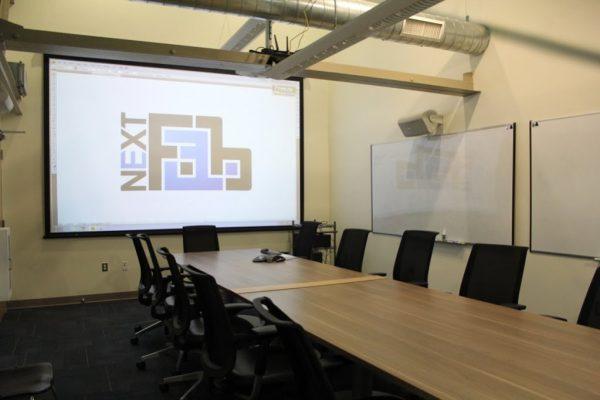 NextFab Philadelphia PA prototyping workshop conference room