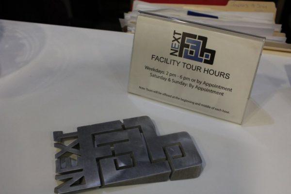NextFab Philadelphia PA prototyping workshop metal logo
