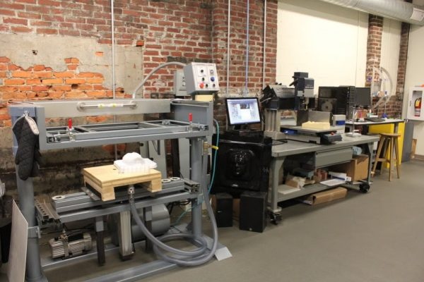 NextFab Philadelphia PA prototyping workshop woodwork machine