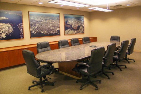 Scarinci Hollenbeck LLC Lyndhurst NJ law office conference room
