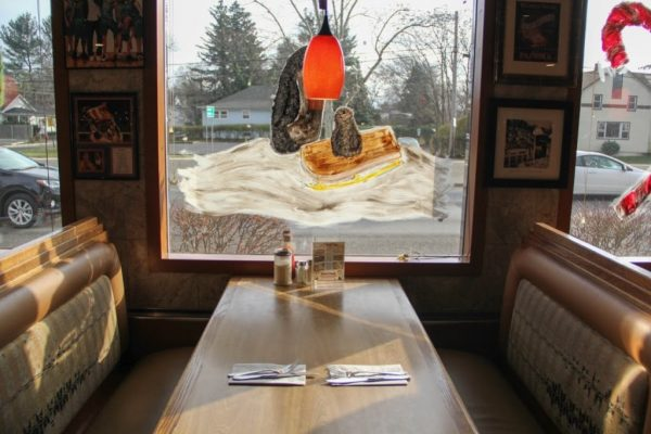 Yellow Rose Diner Keyport NJ booth seats table seating
