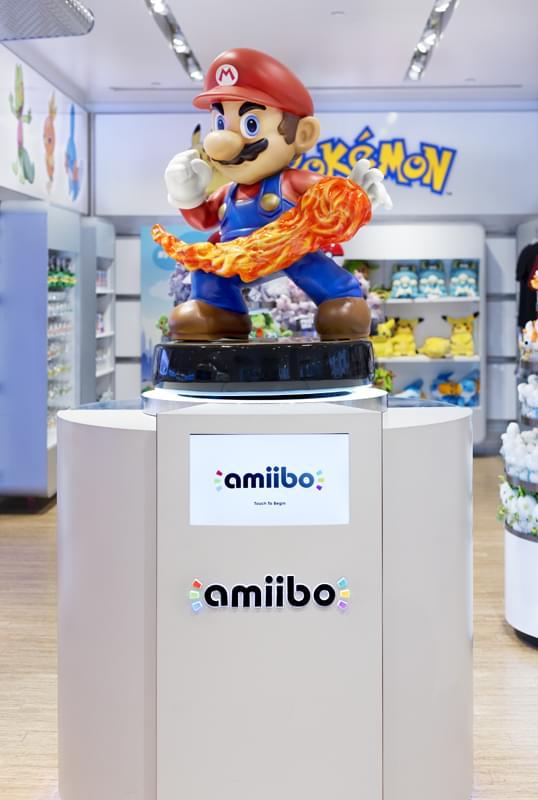 Nintendo World See Inside Retail Flagship Rockefeller