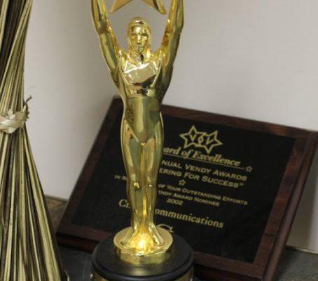 Crane Communications Inc Bala Cynwyd PA marketing award statue