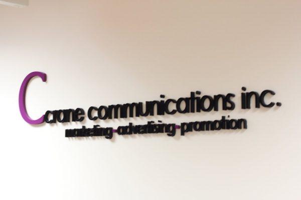 Crane Communications Inc Bala Cynwyd PA wall sign