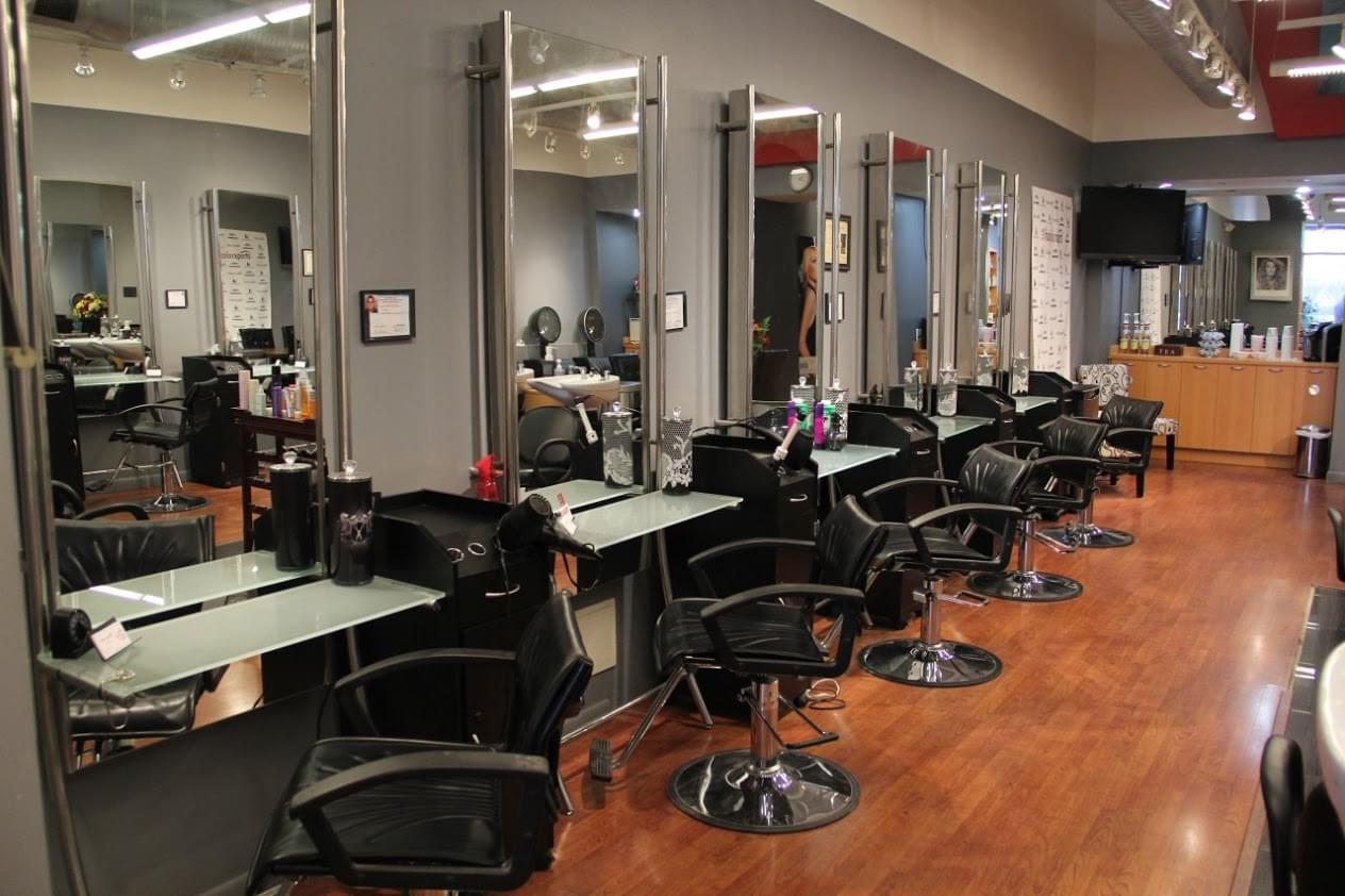 Automotive Repair Shops >> haircolorxperts - See-Inside Beauty Salon, Holmdel, NJ - Google Business View | Interactive Tour ...